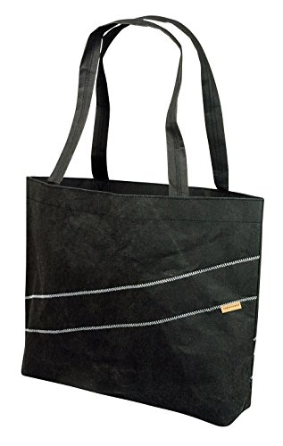 ON-THE-ROAD Papier Shopping Bag schwarz (Papier Bags, Shopping)