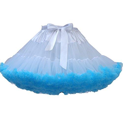 FOLOBE Frauen Tutu Kostüm Ballett Tanz Puffy Rock 40cm / 16