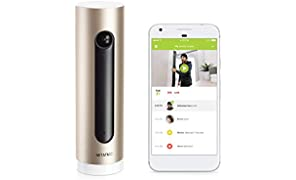 Netatmo Smart Indoor Security Camera, WIFI, Movement Detection, Night Vision, Without Fees, NSC01-UK (Welcome)