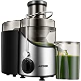 Juicer Juice Extractor, Aicook 65MM Wide Mouth...