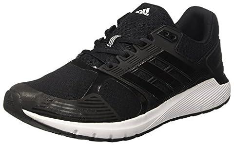 Adidas Herren Duramo 8 Turnschuhe Schwarz (Core Black/Core Black/Footwear White),