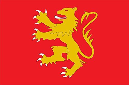 Preisvergleich Produktbild Flagge Zuberoa | Old french province of Soule Zuberoa | Querformat Fahne | 0.06qm | 20x30cm für Diplomat-Flags Autofahnen