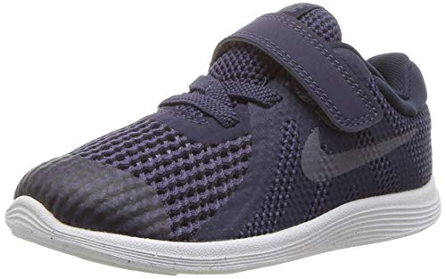 Nike Unisex-Kinder Revolution 4 (TDV) Laufschuhe, Blau (Neutral Indigo/Light Carbon-Obsidian 501), 23.5 EU (Baby Neutral Schuhe)