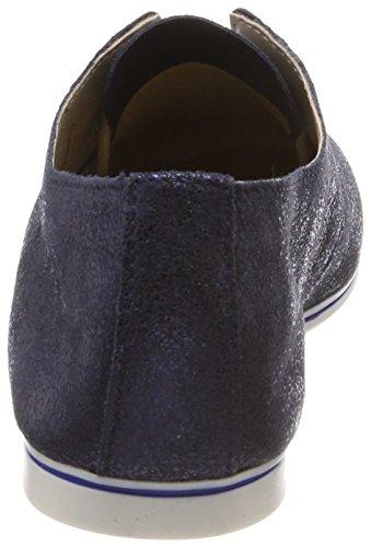 Tamaris 23203, Scarpe Stringate Oxford Donna Blu (Navy Metallic)