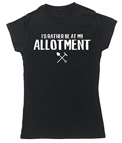 hippowarehouse-id-rather-be-at-my-allotment-womens-fitted-short-sleeve-t-shirt