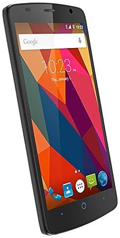ZTE Blade L5 Smartphone ohne SIM-Lock, Android 5.1 Lollipop, 5-Zoll-Display (12,7cm), 8-MP-Kamera, 8 GB, MediaTek MTK6572, 4 Kerne 1,3 GHz, 1 GB