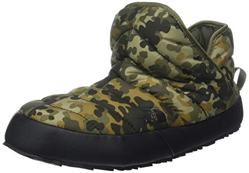 The North Face Thermoball Traction, Bottes de Neige Homme, Vert (Tarmac Macrofleck Print/Tumbleweed Green 5qu), 43 EU