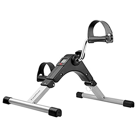 Finether Mini Folding Pedal Exerciser Upper & Lower Body Exercise