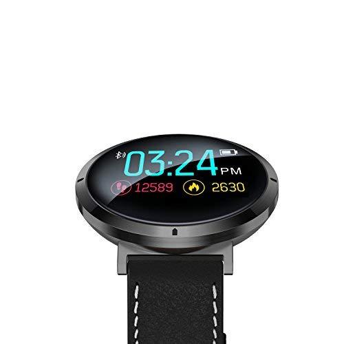 wasserdichte Smartwatch + Herzfrequenz Blutdruck Sauerstoff Level Touch  Screen Monitor, Bluetooth Fitness Tracker für Fitness Schlafqualität, Beste