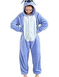 Renee Animal style kigurumi Pyjama Adulte Anime pyjamas tenue Onesie Cospaly Fete Flannels costume