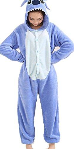Animal style kigurumi Pyjama Adulte Anime pyjamas tenue Onesie Cospaly Fete Flannels costume S