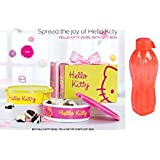 "Tupperware Gift Set Combo ""Kitty Bowl 700ml (SET OF 2) & Free Signoraware 500 Ml Bottle"