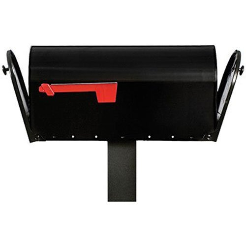 SOLAR GROUP E16X2B01 Elite Black DBL Mail Box by Solar Group -