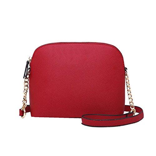 La Signora Messenger Yy.f Spalla Shell Borsa Borse A Tracolla Donna Del Design Portafogli Multicolore Black