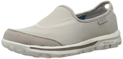 Skechers  Gowalk,  Damen Kurzschaft Stiefel , beige - natur - Größe: 38,5 EU F