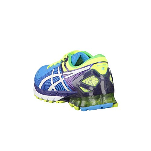 ASICS Gel-kinsei 6 - Scarpe Running Uomo, Blu (flash Blue/white/indigo Blue 4201), 44 EU Blue