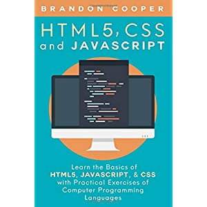 41mSwDYrgZL. SS300  - HTML5, CSS, and JavaScript: Learn the Basics of HTML5, JavaScript, & CSS with Practical Exercises of Computer Programming Languages