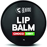 BEARDO Choco Mint Lip Balm for Men, 7 g