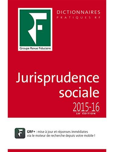 Jurisprudence sociale 2016-17