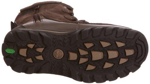 Timberland HP WP Boot, Unisex-Kinder Schneestiefel Braun (Dark Brown Suede)