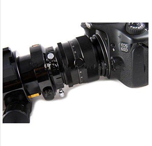 Preisvergleich Produktbild Gowe 5,1cm Teleskop Helical Okularauszug Axis Guider Maßstab W/Canon EOS EF Kamera Adapter