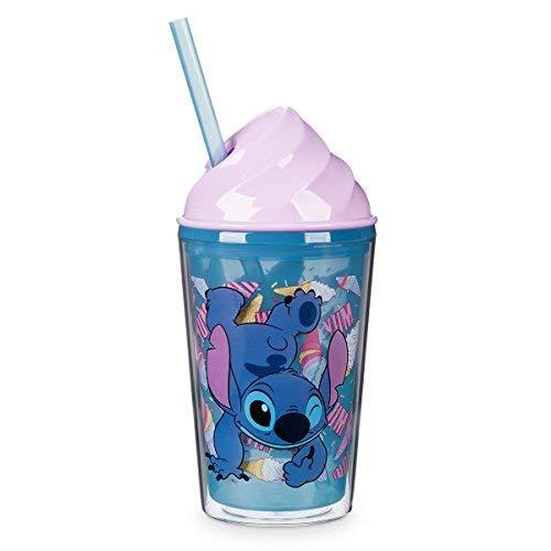 Disney Stitch Ice Cream dôme Gobelet avec paille