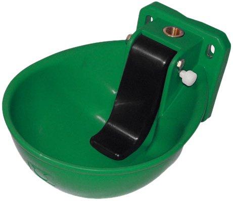 Kerbl 221871 Tränkebecken Kunststoff K71 mit Druckzunge