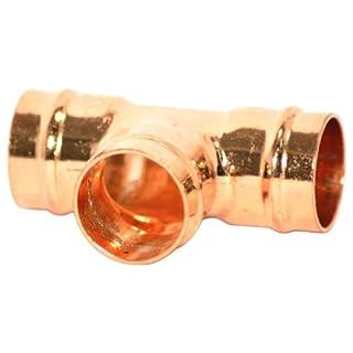 Plumb-Pak Pre-Soldered Equal Tee 15mm - Pack of 5