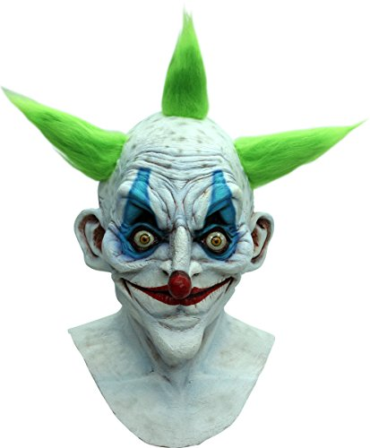 Latex Maske Alte Clown (Alter Clown Halloween-Maske für)