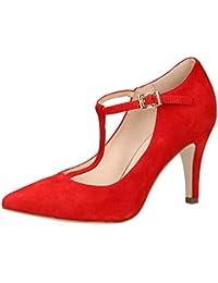 CAPRICE 24400-22 Mujer Bombas de Cinta,Scarpe Col Tacco,T-Chiusura,Elegante,di classe,Scarpe ufficio,Scarpe Business,Scarpe Col Tacco…