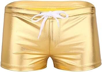 Freebily Short Bóxer Adjustado Ropa Interior para Hombre Pantalones Cortos con Hueco Permeable al Aire Hombre oo5x9PzD