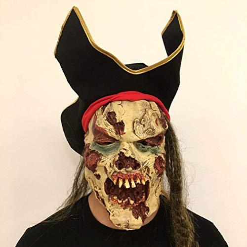 ten Zombie-Maske Hohe Imitation Resident Böse Teufel Maske,Photocolor,Onesize ()