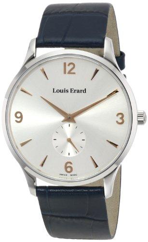 Louis Erard Men's 47217AA11.BEP03 1931 Analog Display Mechanical Hand Wind Blue Watch