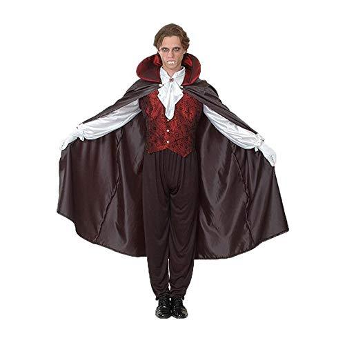 Männlich Kostüm Dämon - Noble Halloween Kostüm Männlicher Erwachsener COS Vampire Count Horror Bloody Evil Kostüm