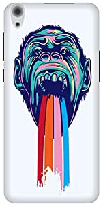The Racoon Grip Tripping Chimpanzee hard plastic printed back case/cover for Lenovo S850