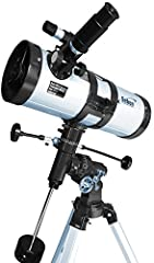 Idea Regalo - Seben 1000-114 Star-Sheriff EQ3 Telescopio riflettore con