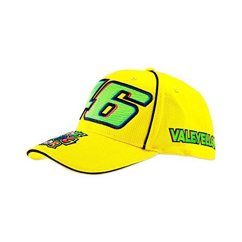 339759d6798 VR46 Valentino Rossi 46 cap Men Vale Cap Yellow One Size