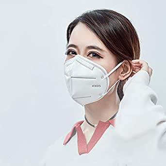 eCraftIndia Pack of 5 KN95 Reusable Anti Pollution/Bacterial Premium Quality Face Mask