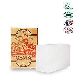 OSMA LABORATOIRES Alaun Block Kaliumalaunstein (Rockalaun), 75 g