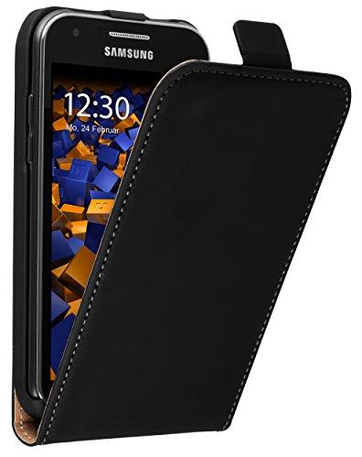 mumbi PREMIUM Leder Flip Case für Samsung Galaxy J1 Tasche (nicht für das Galaxy J1 2016)