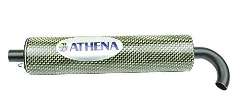 Athena S410000303001 Silencieux Régénérable en Fibre de Carbone, 60 x
