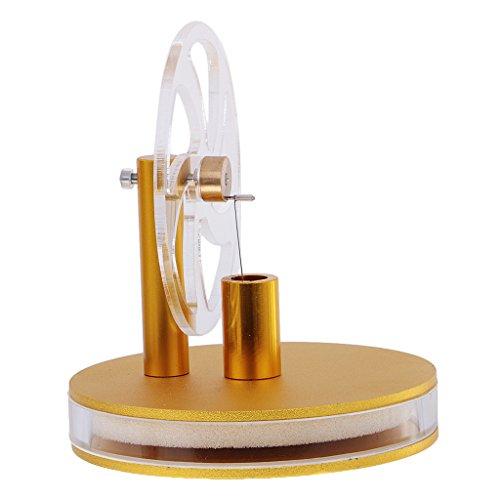 Preisvergleich Produktbild MagiDeal Neue Niedertemperatur-Stirlingmotor Mode pädagogisches Spielzeug Kit Geschenk - Gold