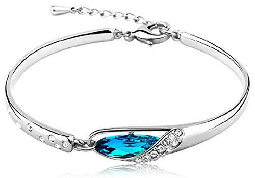 preskin-wunderschones-silber-armband-mit-funkelndem-tropfen-in-aquamarin-farbe-und-dekorativen-stras