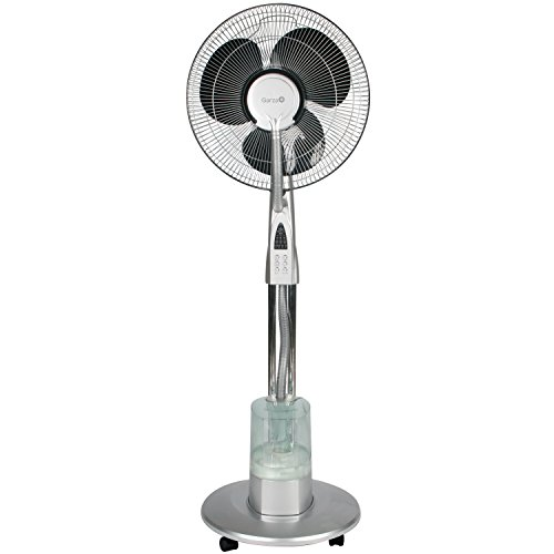 Garza Ciclón - Ventilador de Pie con Humidificador y Mando a Distancia