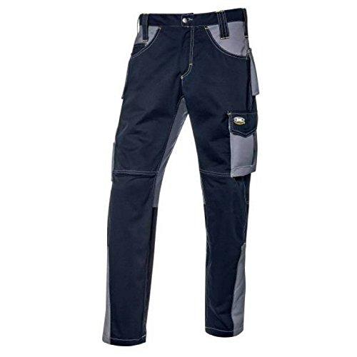 Pantalone da lavoro lunghi Fusion blu navy/grigio taglia 44-58 (50, Blu navy)