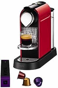 Krups YY1471FD Nespresso Citiz Rouge