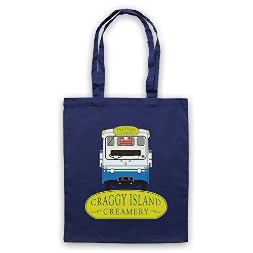 Inspiriert durch Father Ted Craggy Island Creamery Inoffiziell Umhangetaschen Ultramarinblau