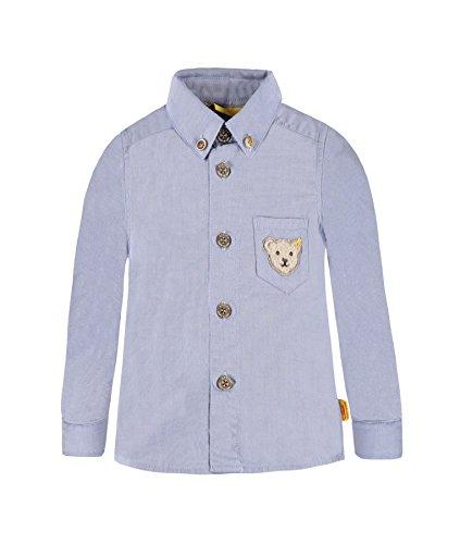 Steiff Collection Jungen Hemd Hemd 1/1 Arm, Gr. 86, Blau (baby blue 3023)