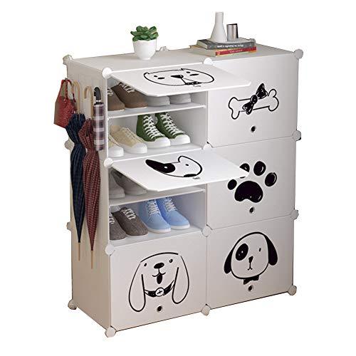 Multi-couche chaussure rack porte transparente simple armoire à chaussures en plastique anti-poussière multi-usages chaussures bottes de stockage à domicile
