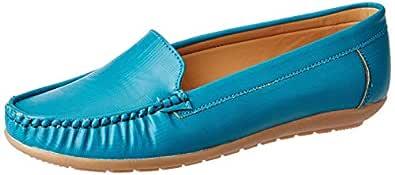 Amazon Brand - Symbol Women's Turq Loafers-3 UK (36 EU) (6 US) (AZ-WSY-04)